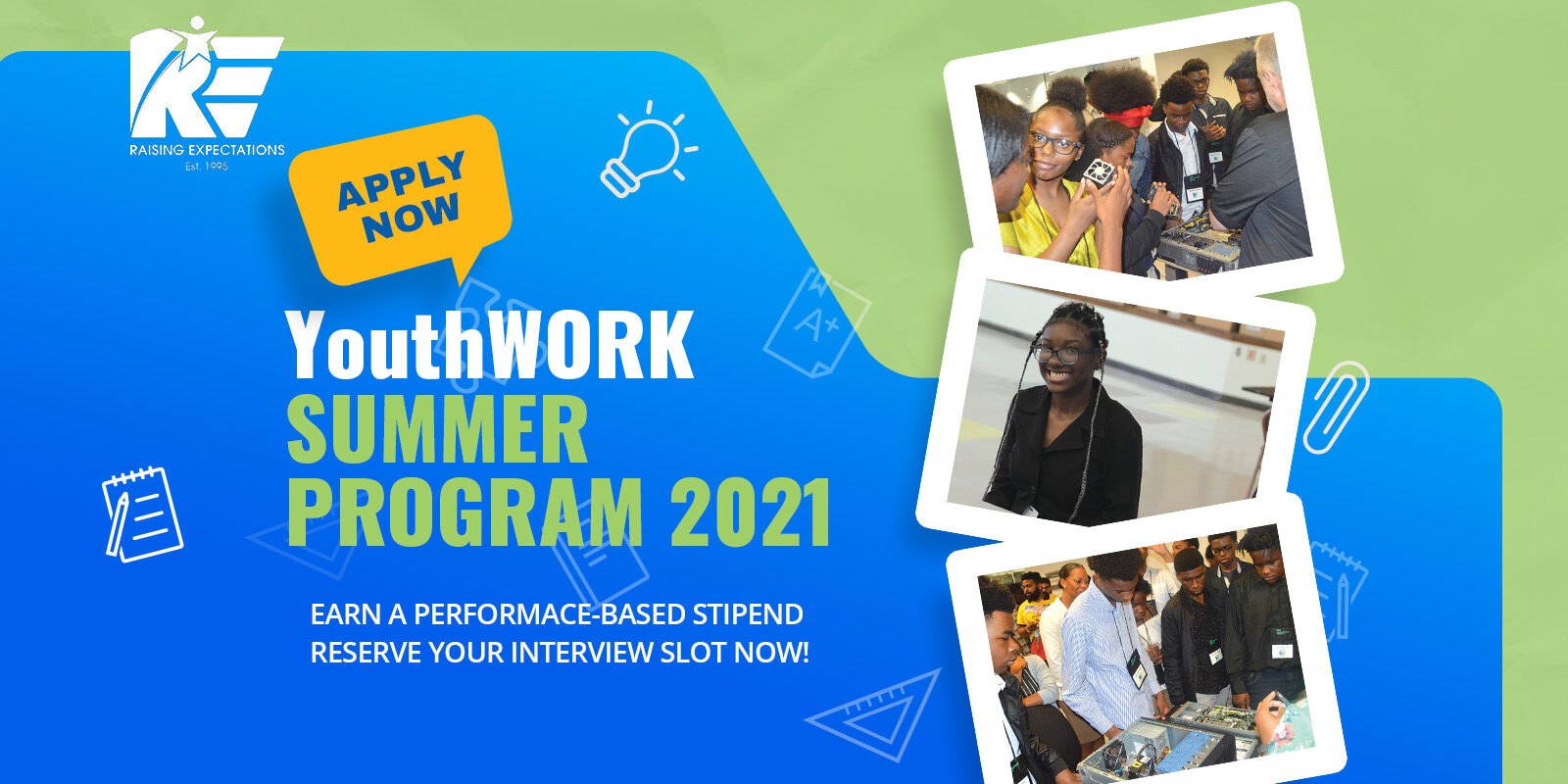 <strong>Apply Now: New YouthWork Summer Program 2021</strong>